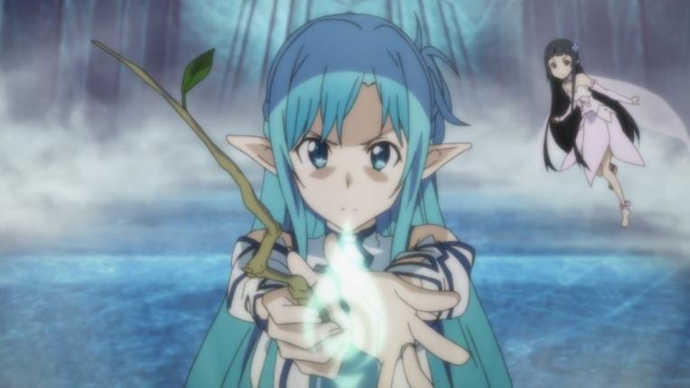 Asuna Yui Healing