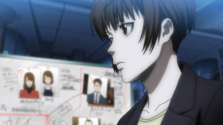Psycho Pass Akane Working